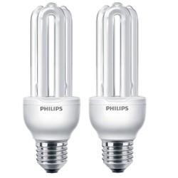 Bộ 2 Bóng đèn Compact 3U Essential 18W E27 Philips