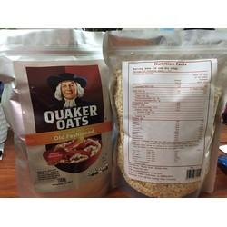 Combo 2kg Yến Mạch Nguyên Chất Quaker Cho Bé Ăn Dặm Từ Mỹ