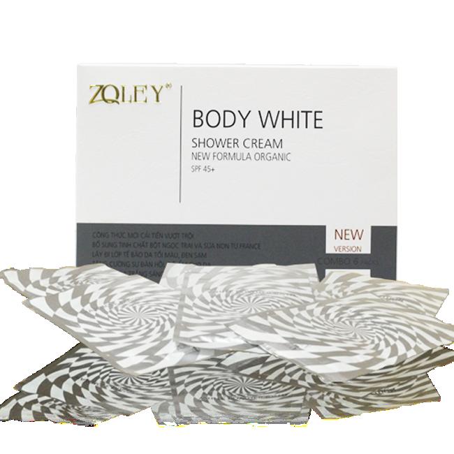 Tắm Trắng body Zoley 1