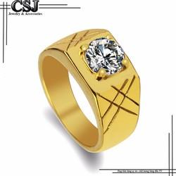 Nhẫn nam cao cấp  đính xoàn đẹp giá rẻ N573