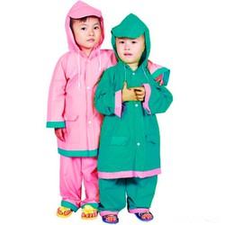 Áo mưa bộ cho trẻ em