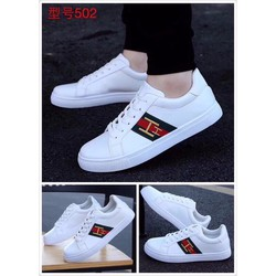 Giày thời  trang  nam  trắng chữ H