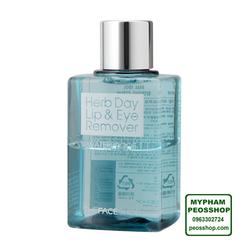 Tẩy trang mắt môi HERB DAY LIP EYE REMOVER WATER PROOF