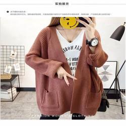 áo len khoác cadigan