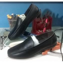 giày lười da trơn
