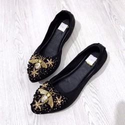 giày búp bê tag con ong vàng