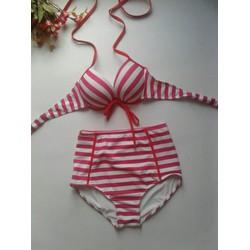 Bikini Sọc Đỏ Xinh