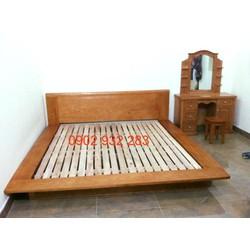 giường kiểu nhật gỗ tự nhiên S 52