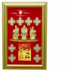 Lịch Đắp Nổi Phúc Lộc Thọ Ngang KC_PLTN4060