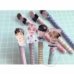 Bút viết hình jungkook bts - bút gel