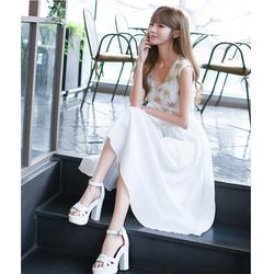 Đầm xòe duyên dáng - Hàng Quảng Châu cao cấp