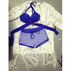 Bikini Sọc Xanh Cực Đẹp