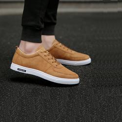 Giày nam đơn giản màu nâu