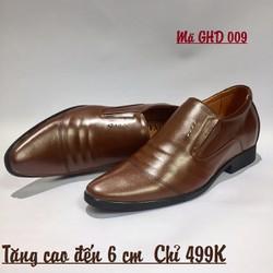 Giày Tăng Chiều Cao - Cam Kết Da Bò - Xưởng Đóng Giày Hoàng Diệu