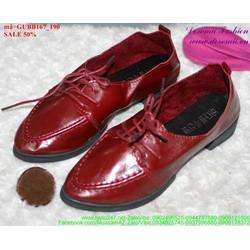 giày oxford da đơn giản sành điệu GUBB167