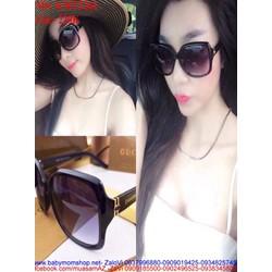 Kính mát nữ đen gọng nhựa GC phong cách thời trang KMTT261