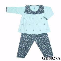 quần áo trẻ em _ bộ tay dài bé gái