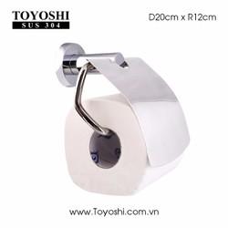 Hộp để giấy vệ sinh cao cấp TOYOSHI sus 304