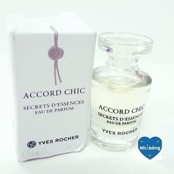 Nước hoa mini Yves rocher Accord Chic xách tay Pháp