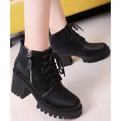 Giày Boot nữ phong cách cá tính B085