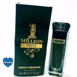 Nước hoa mini Million Prive Paco Rabanne xách tay Pháp