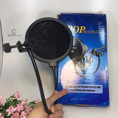 Màng lọc âm thanh POPshield cho míc thu âm - 7823272 , 7364875 , 15_7364875 , 100000 , Mang-loc-am-thanh-POPshield-cho-mic-thu-am-15_7364875 , sendo.vn , Màng lọc âm thanh POPshield cho míc thu âm