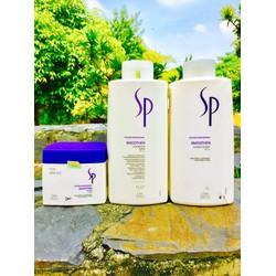 Bộ 3 sản phẩm chăm sóc tóc siêu mượt SP Smoothen