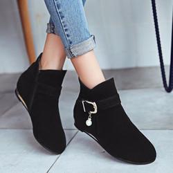 Giày boot nữ phong cách cá tính B089D