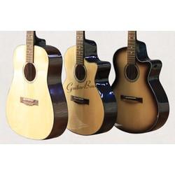 Guitar Acoustic giá rẻ Tặng bộ phụ kiện