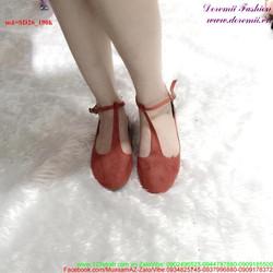 Giày sandal nữ quai hậu sành điệu SD26