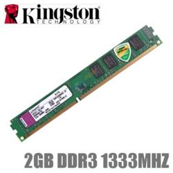Ram PC 2GB BUS 1333 Kingston DDR3
