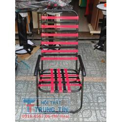 Ghế xếp dây nhựa, ống 19