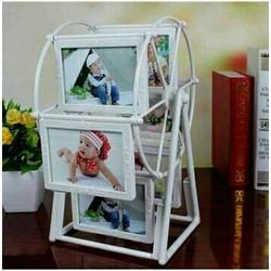 Bộ khung ảnh xoay 12 ảnh để bàn