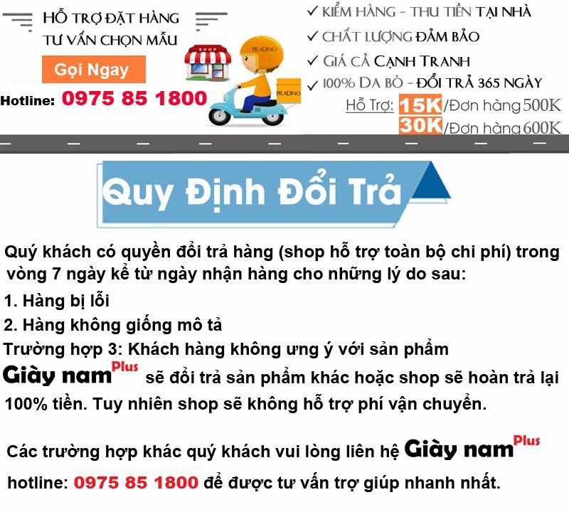 GIÀY TĂNG CHIỀU CAO Nam G302 MÀU ĐEN CAO 7CM 1