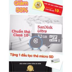 Thẻ nhớ 32GB  chính hãng SANDISK bảo hành 5 năm