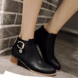 Giày boot nữ phong cách cá tính B088D