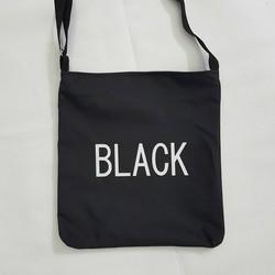 Túi tote đeo chéo black