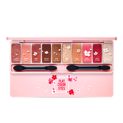 Bảng 10 màu phấn mắt Etude House Play Color Eyes Cherry Blossom