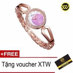 Đồng hồ nữ dây thép chống gỉ Prema V029A + Tặng kèm Voucher