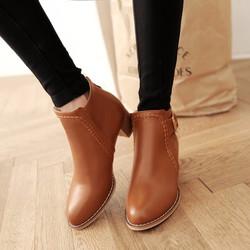 Giày boot nữ phong cách cá tính B088N