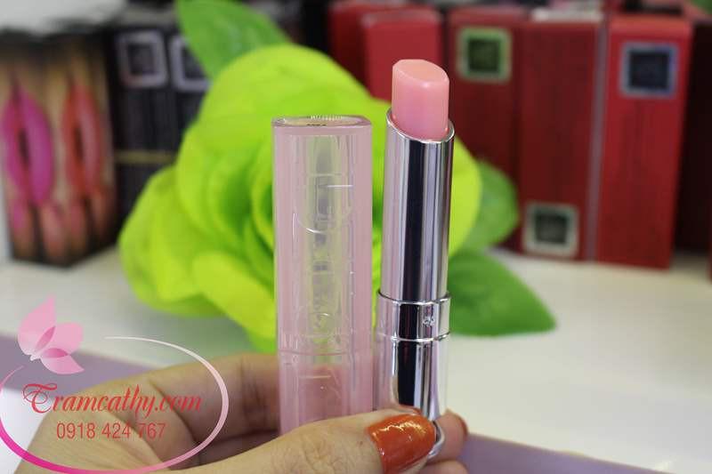 Son dưỡng môi hàng hiệu Dior màu cam 04 4