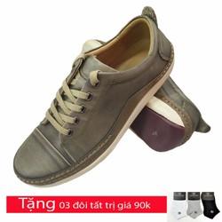 Giày thể thao nam da bò thật cao cấp AD8289GG