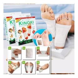 Bộ 10 miếng dán giải độc massage chân cao cấp