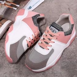 Giày sneaker độn 3 phân nữ phối màu độc đáo , dễ dàng phối đồ 109