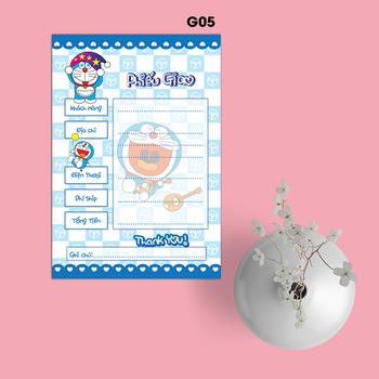 Phiếu Giao Hàng Doraemon - G05