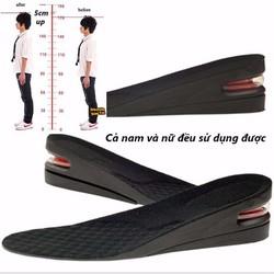 Miếng lót giầy tăng chiều cao 5 cm