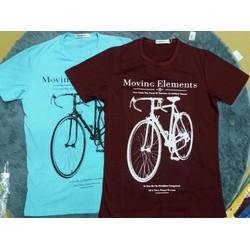Áo thun in hình xe đạp