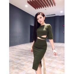 Đầm nữ thời trang, màu sắc hiện đại, phong cách trẻ trung tôn dáng