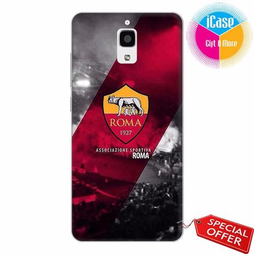 Ốp lưng xiaomi mi 4 - nhựa dẻo in hình câu lạc bộ as roma