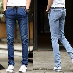 Quần jeans nam ống đứng cặp chung-QJ47